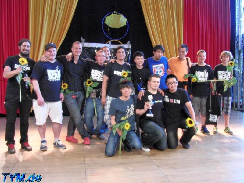Winners Burnin Berlin 2012